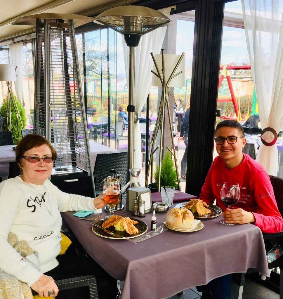 Галинка Чавдарова и Мимо Гарсия на 8-ми март 2021 година